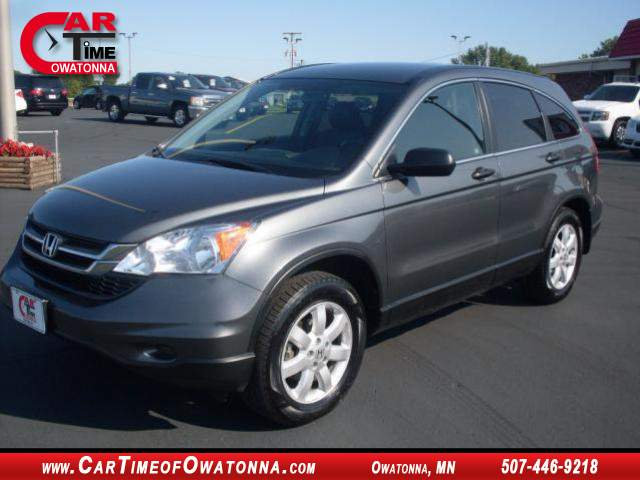 2011 honda cr v se at car time of owatonna 507 446 9218. Black Bedroom Furniture Sets. Home Design Ideas