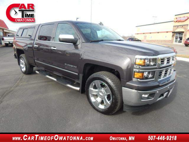 2015 chevrolet silverado ltz at car time of owatonna 507 446 9218. Black Bedroom Furniture Sets. Home Design Ideas