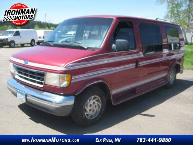 1993 Ford Econoline E 150 Conversion Van At Ironman Motors 763 441 9850