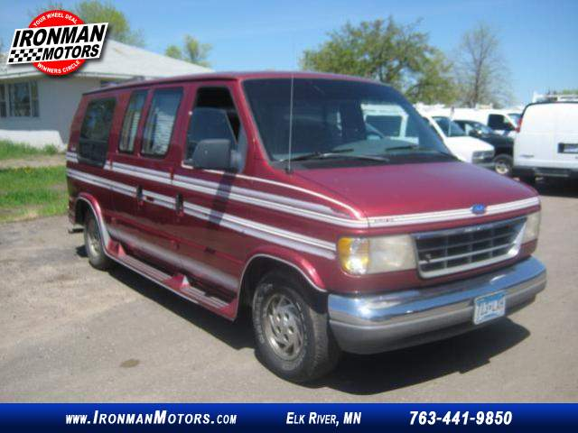 1993 Ford Econoline E 150 Conversion Van At Ironman Motors 763 441 9850