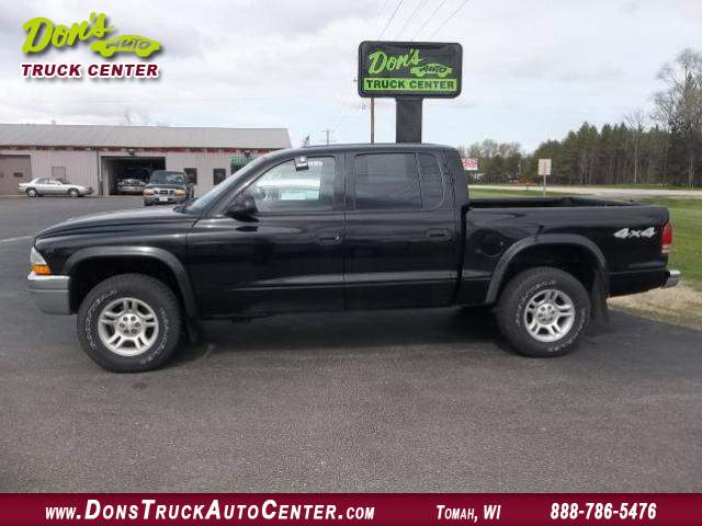 2003 dodge dakota quad cab slt at dons auto truck center 608 372 6435