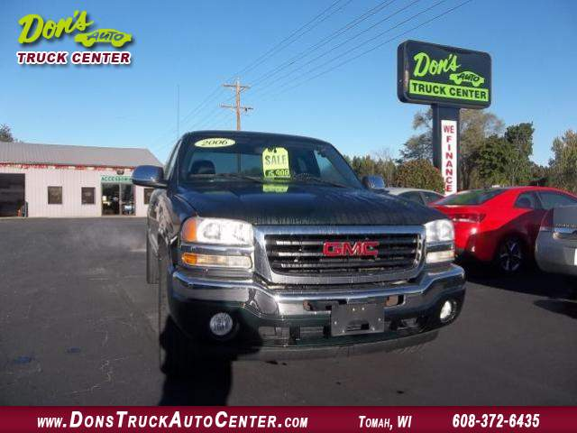 Title #www.dealerpacim.net/vehicle_images/widonsauto/0010043/2006 GMC-SIERRA-SLE-4X4- X CAB-DK GREEN-S B-100K 003.JPG