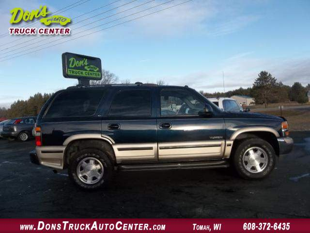 Title #www.dealerpacim.net/vehicle_images/widonsauto/0011493/2004 GMC-YUKON-SLT-4X4-142K-BLUE PEWTER 004.JPG